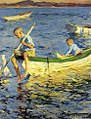 Frank W. Benson, Boating at Vinalhaven, 1920.jpg