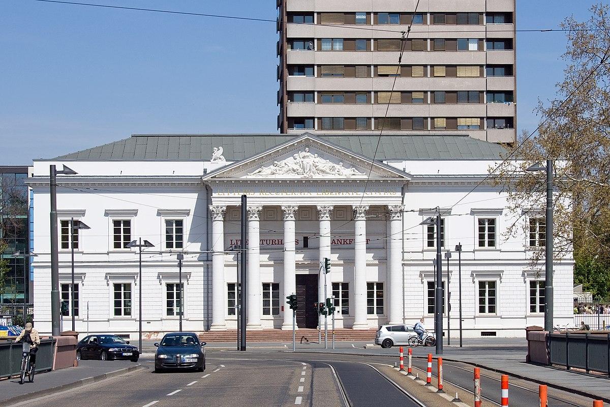 Alte stadtbibliothek wikipedia for Innenarchitekt frankfurt am main