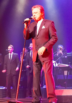 Frankie Valli - Valli performing at the Saban Theatre in 2013