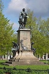 standbeeld van Frans Hals