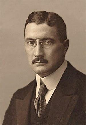 Franz Joseph Emil Fischer - Franz Fischer (1911)