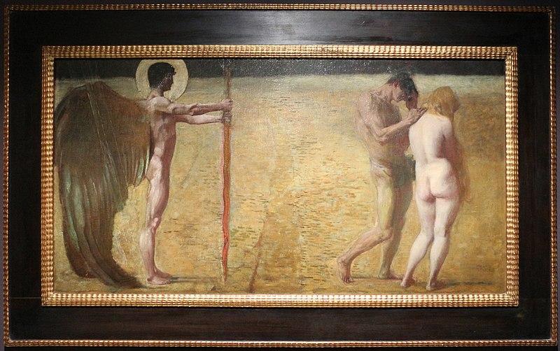 File:Franz von stuck, la cacciata dal paradiso, 1890 ca.JPG