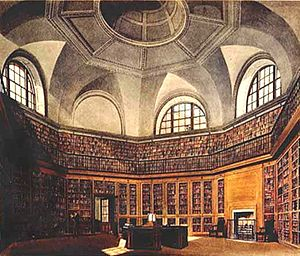 Frederick Augusta Barnard - The Octagon Library, George III's original library at Buckingham House
