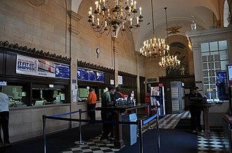 Freeport, New York - Interior of post office
