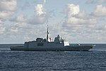French frigate Provence (D652) underway in the Indian Ocean on 21 May 2019 (190521-N-VA840-0064).JPG