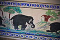 Fresco on a wall inside Badal Mahal, Kumbhalgarh fort, Udaipur 06.jpg