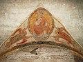 Frescos in the narthex of Saint-Philibert abbey.jpg
