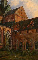 Fritzlar Church, Eastern Section and Monastery Garden