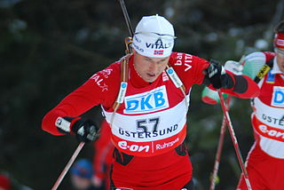 Frode Andresen Norwegian biathlete and cross-country skier
