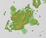 Fukuejima Relief Map, SRTM-1.jpg