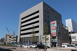 福井銀行本店が置かれている福銀センタービル(本店建て替えのために仮入居)