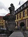 Fulda - Brunnen vor dem Palais von der Tann.JPG