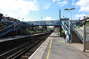 Fulwell railway station - Image: Fulwell Station by John Salmon