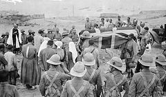 Funeral of the first British soldiers to be killed at Baku-4.jpg