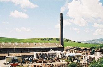 Civil parishes in Cumbria - Image: Furness Brick Company, Askam in Furness geograph.org.uk 411249