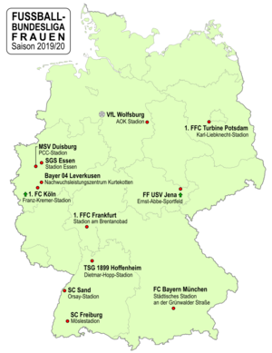 Fussball Bundesliga 2019 20 Frauen Wikipedia