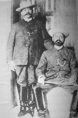 Juan Vicente Gómez - Gómez and Cipriano Castro