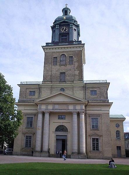 Lêer:Göteborgs domkyrka - Västgöten - 12 Sept 2005.jpg