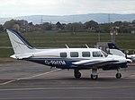 G-RHYM Piper Navajo 31 2 Excel Aviation Ltd (34488078371).jpg