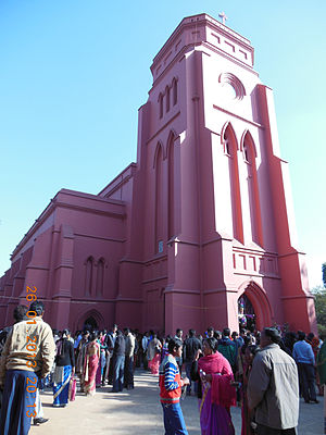 Gossner Evangelical Lutheran Church in Chotanagpur and Assam - Main Building, G.E.L.Church, Ranchi