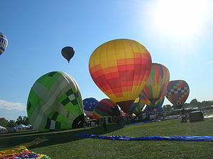 Forest Park (St. Louis) - The Great Forest Park Balloon Race is an annual hot air balloon competition and show
