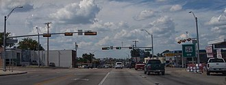 Gilmer, Texas - Main Highway in Gilmer, Texas (US-271)