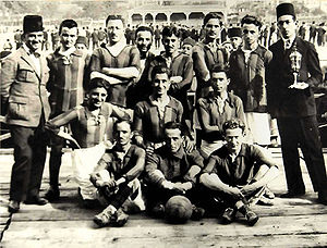 1921–22 Galatasaray S.K. season - Istanbul Friday League - Galatasaray SK 1921-22 Champion