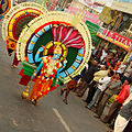 Ganesh Chaturthi parade of deities Trivandrum Kerala India 2009.jpg