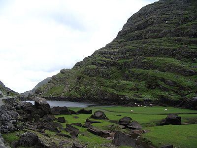Gap of Dunloe Black Lough.JPG