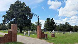 Photo of Garden of Memories Cemetery black plaque
