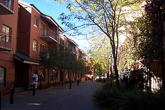 Rundle Street, Adelaide - Garden East apartments (circa early 1990s)