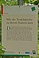 Gartenpavillon, sog. Teufelskirche bei Wetzlas - Hinweisschild.jpg