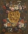 Gaspar Peeter Verbruggen (II) - Cartouche surrounded by a Floral Garland.jpg