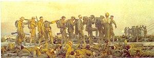 John Singer Sargent's 1918 painting Gassed.