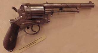 Gasser M1870 - A Gasser revolver displayed at the Museum of the Great Patriotic War, Kiev.