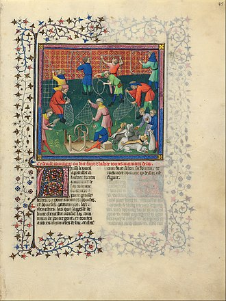 Livre de chasse - Ex Libris of the Morgan Library manuscript