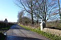Gateposts, Bredy, Dorset. - geograph.org.uk - 1125796.jpg