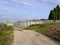 Gates to the sewage works. - geograph.org.uk - 521811.jpg