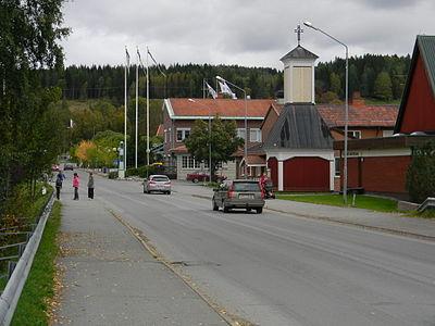 Gatubild från Svenstavik