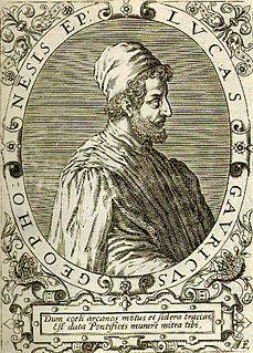 Luca Gaurico Italian astronomer