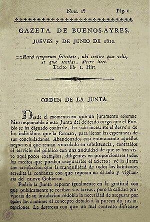 Gazeta de Buenos Ayres