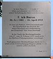 Gedenktafel Kavalierstr 22 (Pank) Erich Baron.jpg