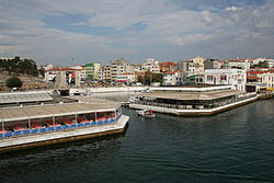 Gelibolu is a port on the Dardanelles.