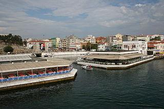 Gelibolu District in Marmara, Turkey