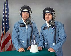 Jim Lovell, Frank Borman