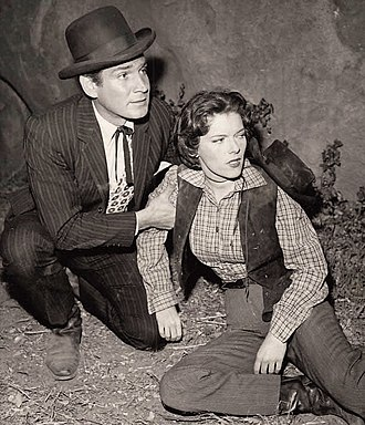 Jacqueline Scott - Jacqueline Scott in Bat Masterson with Gene Barry (1959).