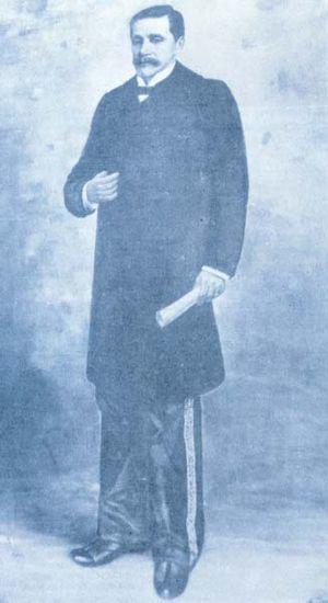 Carlos Albán - Albán in 1899