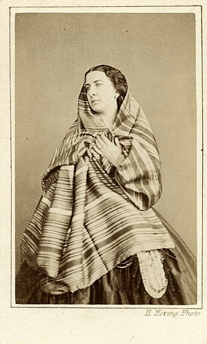 Geneviève Ward - Geneviève Ward circa 1860