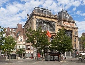 Gent, Volkshuis Ons Huis oeg26052 op de Vrijdagmarkt IMG 0697 2021-08-15 11.29.jpg