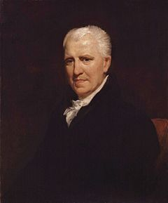 Portrait of Crabbe by Henry William Pickersgill, circa 1818–19